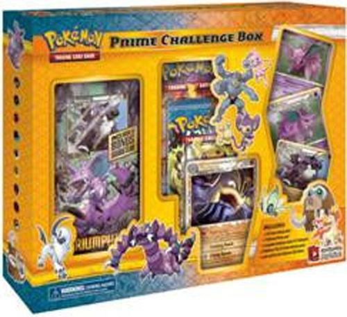 Pokemon Trading Card Game HeartGold & Soulsilver Triumphant Prime Challenge Box Special Edition