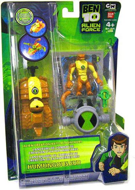 Ben 10 Alien Force Alien Creation Battle Launchers Humungousaur Action Figure