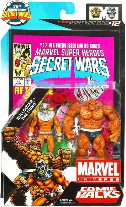 Marvel Universe Bulldozer & The Thing Action Figure 2-Pack #12