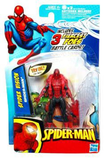 2010 Spider Vision Spider-Man Action Figure