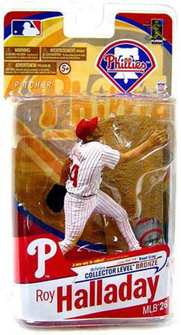 McFarlane Toys MLB Philadelphia Phillies Sports Picks Series 26 Roy Halladay Exclusive Action Figure [White Jersey]