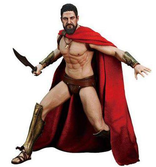 300 Movie Masterpiece King Leonidas Collectible Figure