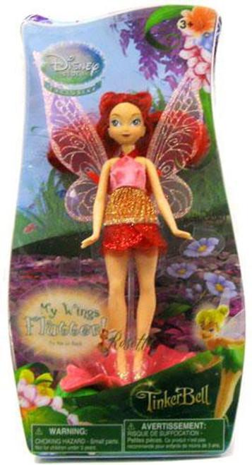 Disney Fairies Tinker Bell Fluttering Wings Rosetta Exclusive 5-Inch Figure