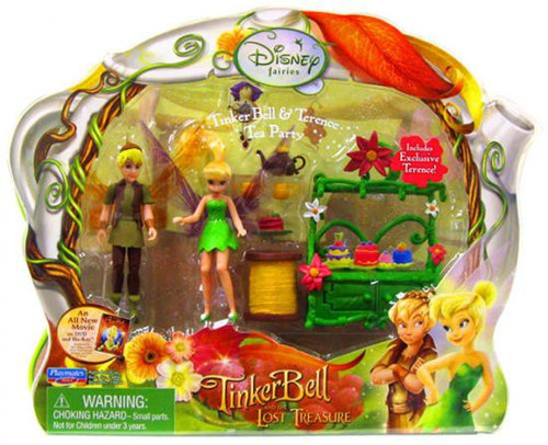 Disney Fairies Tinker Bell & The Lost Treasure Tinker Bell & Terence Tea Party Playset