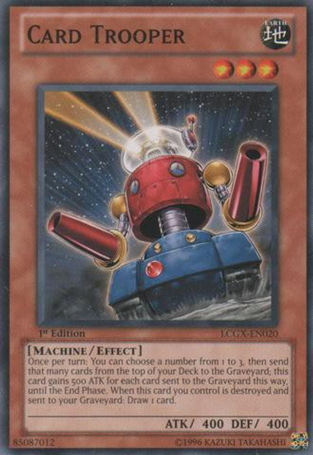 YuGiOh GX Trading Card Game Legendary Collection 2 Common Card Trooper LCGX-EN020