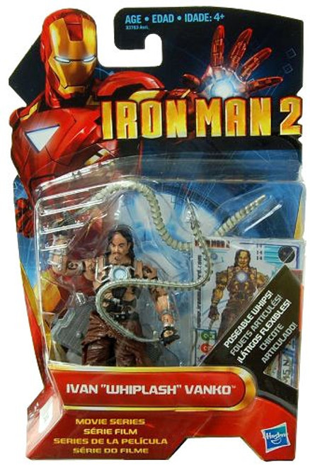 "Iron Man 2 Movie Series Ivan ""Whiplash"" Vanko Action Figure #14 [Unarmored]"