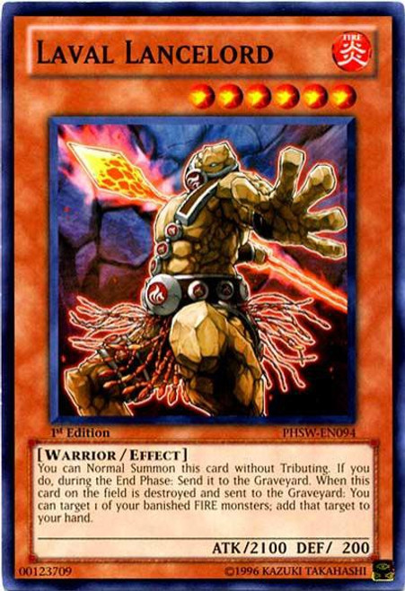 YuGiOh Trading Card Game Photon Shockwave Common Laval Lancelord PHSW-EN094