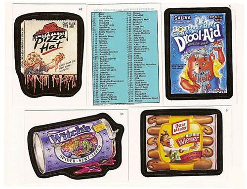 Wacky Packages Topps Series 6 Complete Set