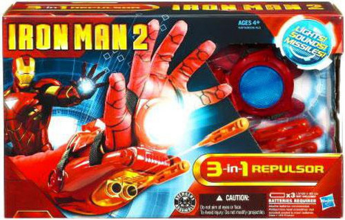 Iron Man 2 3-In-1 Repulsor Roleplay Toy