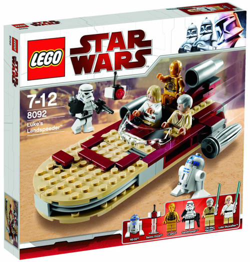 LEGO Star Wars A New Hope Luke's Landspeeder Exclusive Set #8092