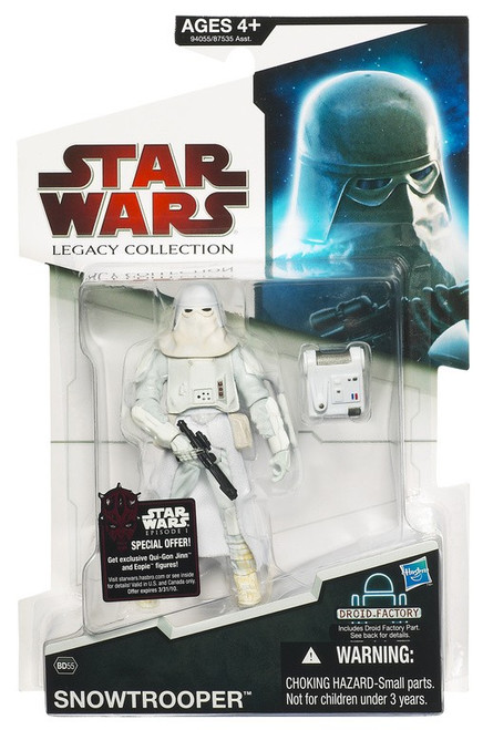 Star Wars The Empire Strikes Back 2009 Legacy Collection Droid Factory Snowtrooper Action Figure BD55