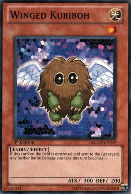 YuGiOh GX Trading Card Game Legendary Collection 2 Common Winged Kuriboh LCGX-EN009