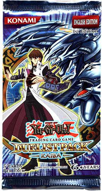 YuGiOh Trading Card Game Duelist Pack Kaiba (1st Edition) Booster Pack [5 Cards]