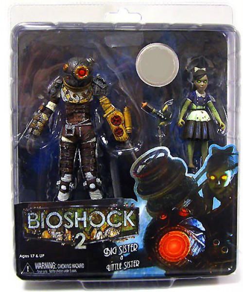NECA Bioshock 2 Big Sister & Little Sister Exclusive Action Figure 2-Pack