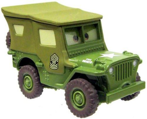 Disney / Pixar Cars Loose Lenticular Sarge Diecast Car [Loose]