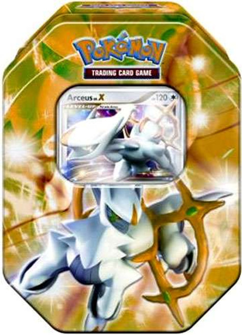 Pokemon Trading Card Game 2009 Arceus Exclusive Tin Set [Green]
