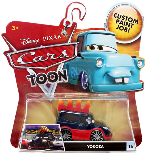 Disney / Pixar Cars Cars Toon Main Series Yokoza Diecast Car #16