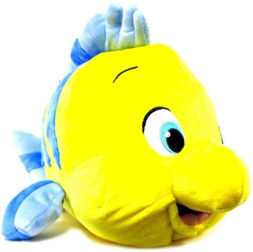 Disney The Little Mermaid Flounder Exclusive 12-Inch Medium Plush