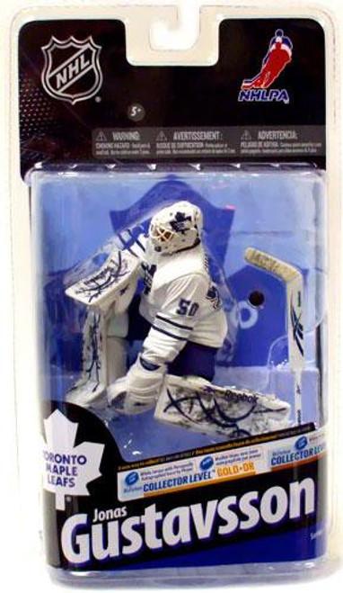 McFarlane Toys NHL Toronto Maple Leafs Sports Picks Series 24 Jonas Gustavsson Action Figure [White Jersey]