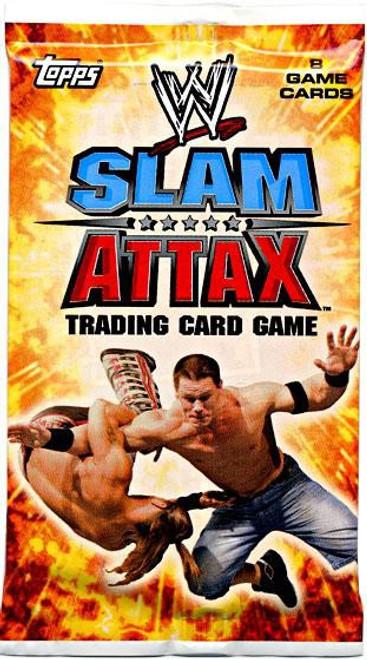 WWE Wrestling Topps Slam Attax Evolution Series 1 Booster Pack