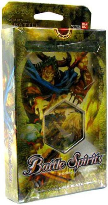 Battle Spirits Trading Card Game Scars of Battle Sorcerer's Blaze Deck