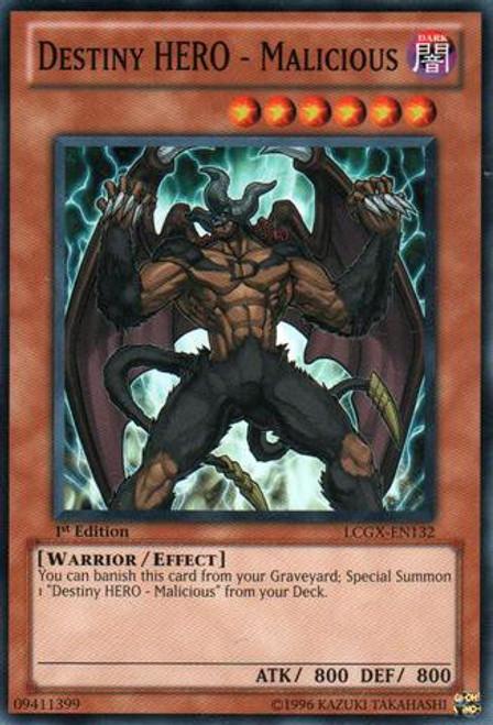 YuGiOh GX Trading Card Game Legendary Collection 2 Common Destiny HERO - Malicious LCGX-EN132