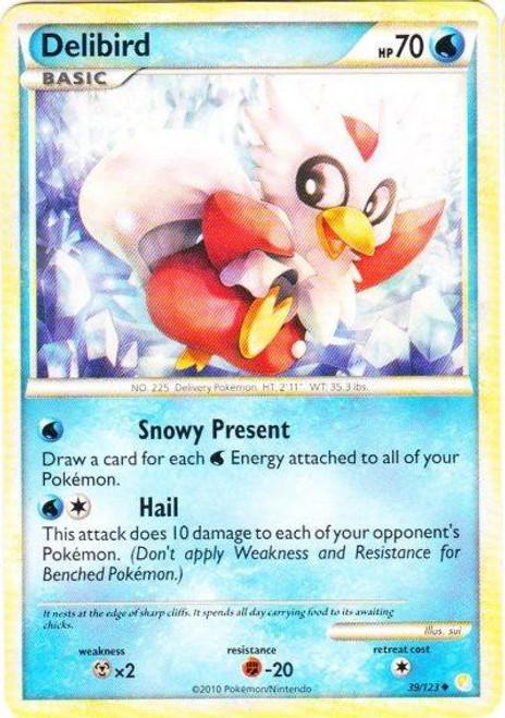 Pokemon HeartGold & Soulsilver HeartGold SoulSilver Uncommon Delibird #39