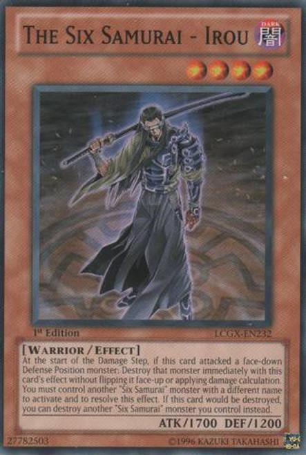 YuGiOh GX Trading Card Game Legendary Collection 2 Common The Six Samurai - Irou LCGX-EN232