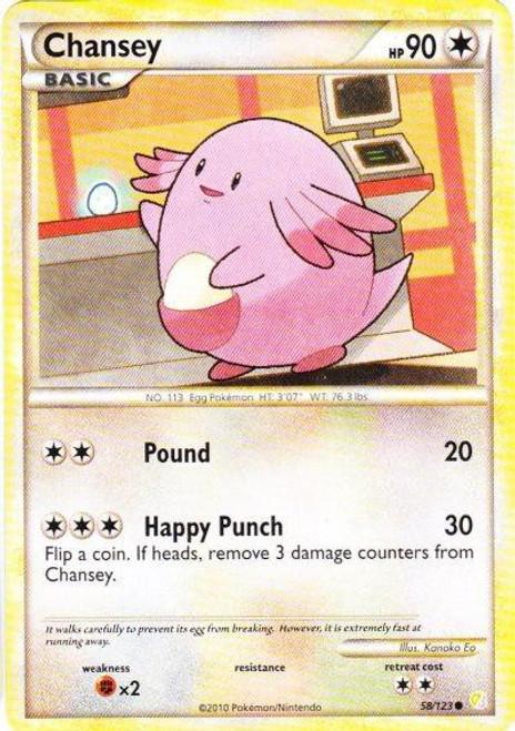 Pokemon HeartGold & Soulsilver HeartGold SoulSilver Common Chansey #58