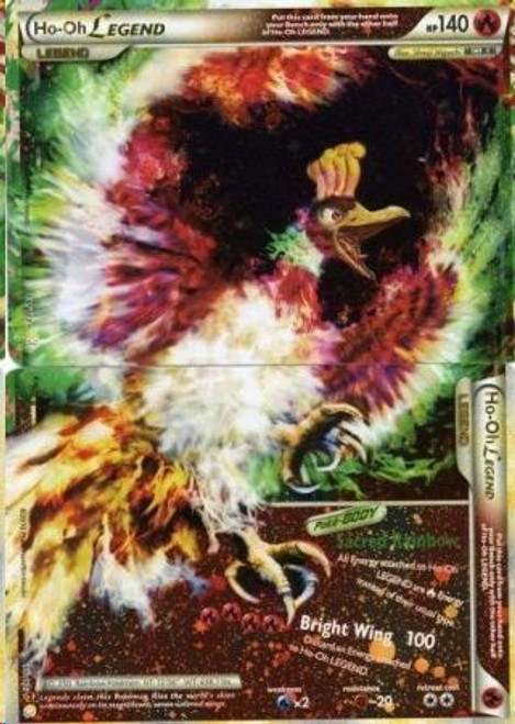 Pokemon HeartGold & Soulsilver HeartGold SoulSilver Ultra Rare Ho-Oh LEGEND #111 & 112