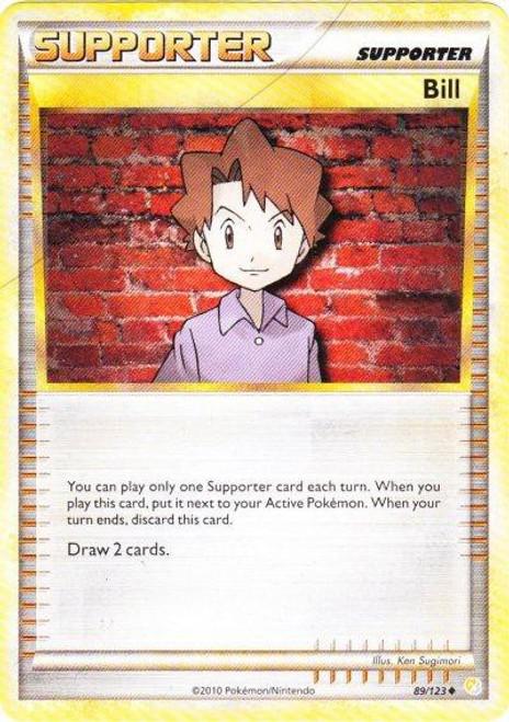 Pokemon HeartGold & Soulsilver HeartGold SoulSilver Uncommon Bill #89