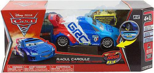 Disney / Pixar Cars Cars 2 Air Hogs R/C Raoul Caroule Remote Control Car [Moving Eyes]
