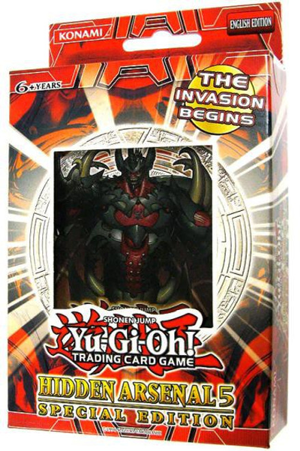 YuGiOh Trading Card Game Hidden Arsenal 5: Steelswarm Invasion Special Edition