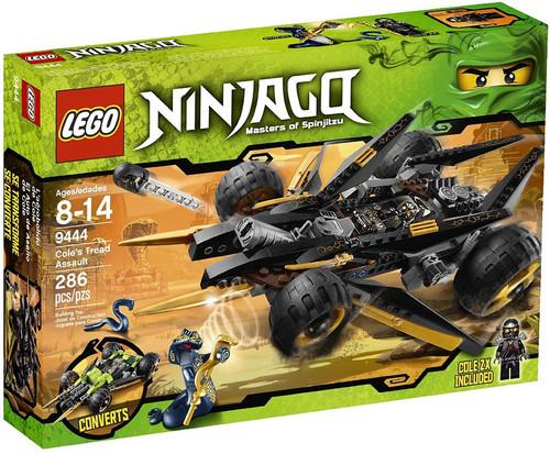 LEGO Ninjago Cole's Tread Assault Set #9444