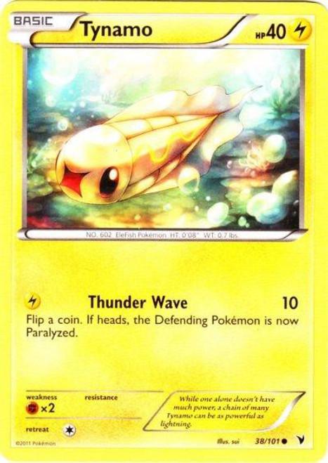 Pokemon Black & White Noble Victories Common Tynamo #38