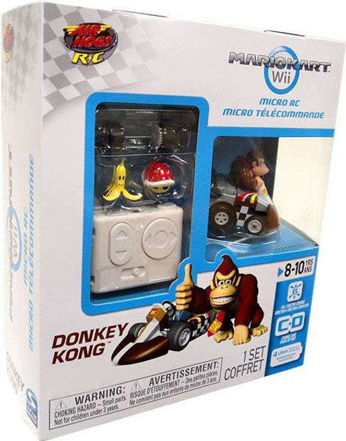 Super Mario Mario Kart Wii Micro Remote Control Donkey Kong Exclusive R/C Vehicle
