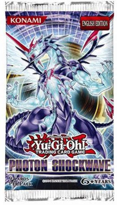 YuGiOh Trading Card Game Photon Shockwave Booster Pack [9 Cards]