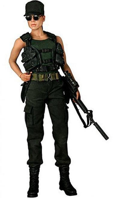 Terminator 2 Judgment Day Movie Masterpiece Sarah Connor Collectible Figure