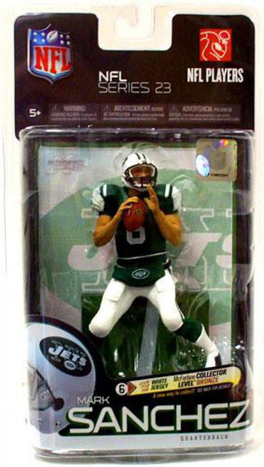 McFarlane Toys NFL New York Jets Sports Picks Series 23 Mark Sanchez Action Figure [Green Jersey]