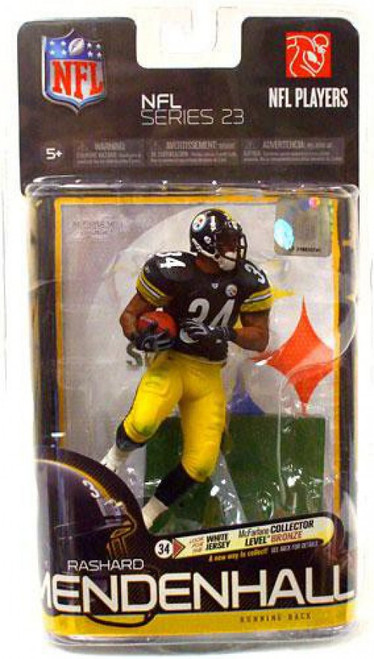 McFarlane Toys NFL Pittsburgh Steelers Sports Picks Series 23 Rashard Mendenhall Action Figure [Black Jersey]