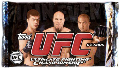 UFC Topps 2010 Main Event Trading Card RETAIL Pack [6 Cards]