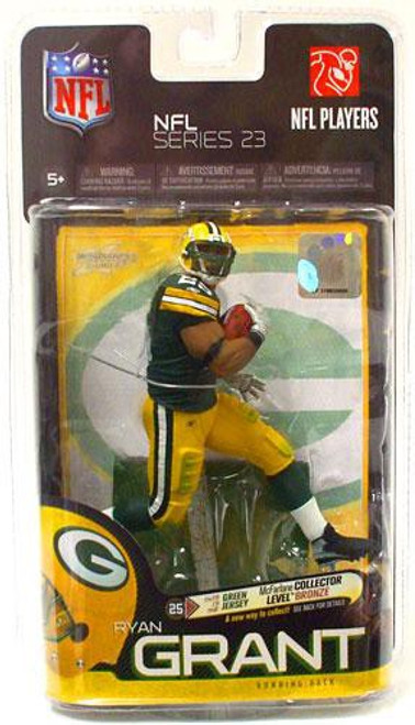 McFarlane Toys NFL Green Bay Packers Sports Picks Series 23 Ryan Grant Action Figure [Green Jersey]