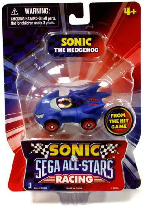Sonic The Hedgehog Sega All-Stars Racing Sonic 1.5-Inch Figure Vehicle