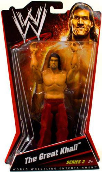 WWE Wrestling Series 3 The Great Khali Action Figure