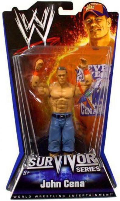 WWE Wrestling Pay Per View Series 1 Survivor Series John Cena Action Figure