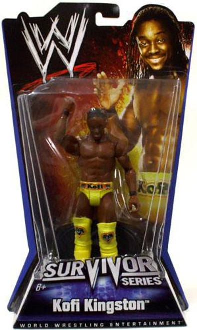 WWE Wrestling Pay Per View Series 1 Survivor Series Kofi Kingston Action Figure
