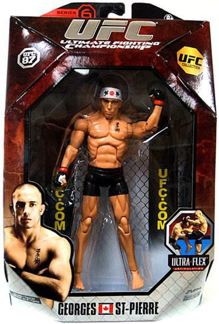 UFC Collection Series 6 Georges St Pierre Action Figure [UFC 87]