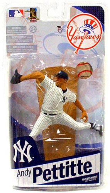 McFarlane Toys MLB Sports Picks 2010 New York Yankees Andy Pettitte Action Figure