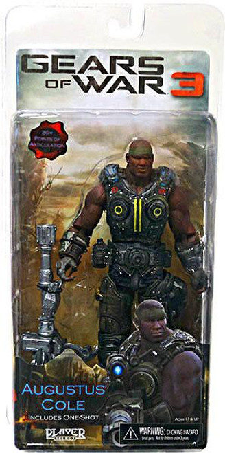 NECA Gears of War 3 Series 2 Augustus Cole Action Figure [One Shot]