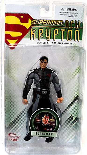 DC New Krypton Series 1 Superman Action Figure